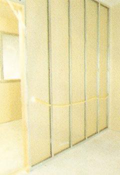 Montaje de tabiques interiores : Paneles