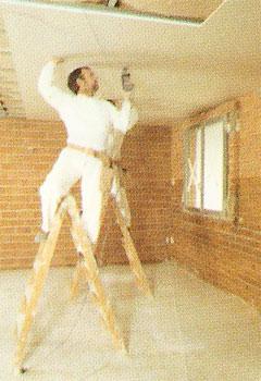 Montaje de falso techo