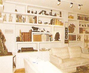 mobiliario, molduras y estanterías de pladur