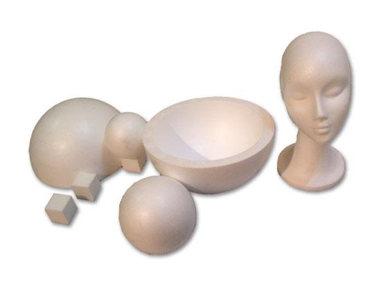 Figuras de poliestireno expandido