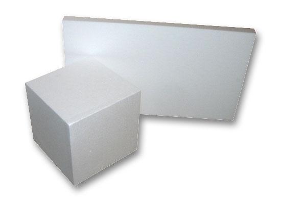 planchas y bloques de poliestireno expandido