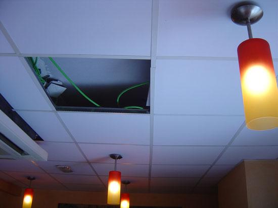 Venta e instalaci n de falsos techos y techos desmontables - Techos de corcho ...