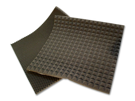 Venta de espumas acusticas for Materiales para insonorizar