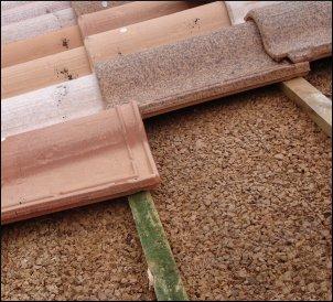 Placas l minas y rollos de corcho natural for Aislante para tejados