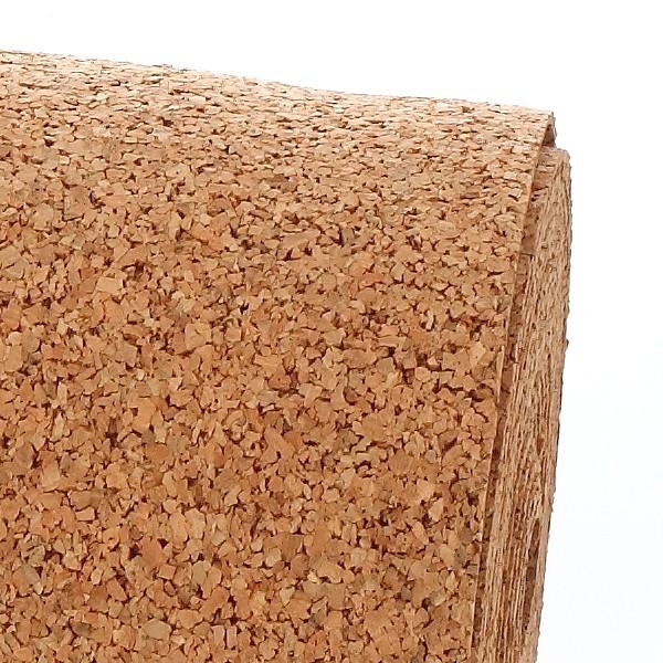 los rollos de corcho como aislante de paredes