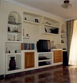 Empresas de muebles y librer as de pladur en valencia for Muebles de pladur para salon fotos